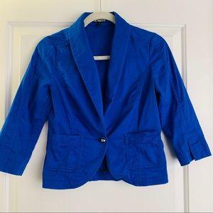 Express Electric Blue Blazer